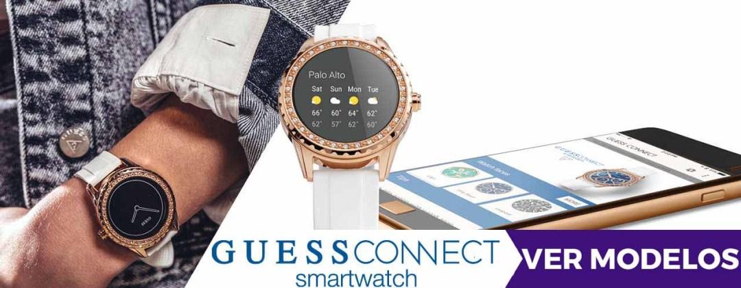 donde comprar online reloj inteligente guess connect al mejor precio - alicante joyeria marga mira