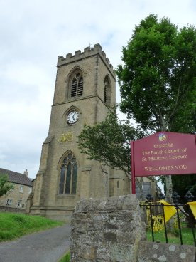 And at Leyburn, even the Parish Church joins in the fun.