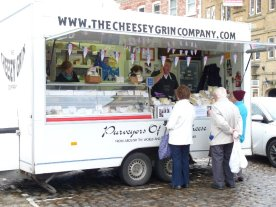 A rather special cheese van.
