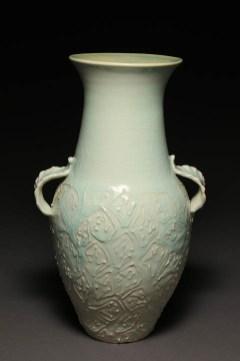 leaf vase