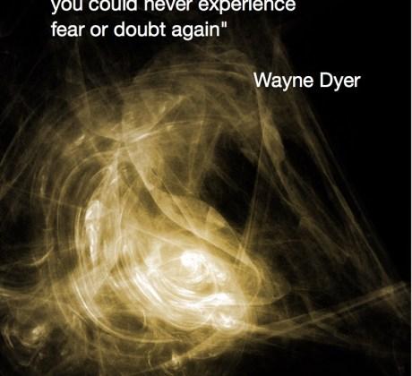 If you knew who walked-Wayne Dyer Quote #spiritualquotes #wordsofwisdom #Fractalart #Margaretdill #wordstoliveby #waynedyerquote