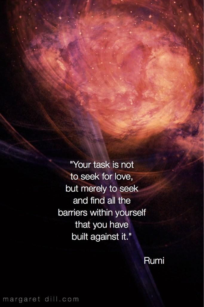 Your task is Rumi quote #spiritualquotes #wordsofwisdom #Fractalart #Margaretdill