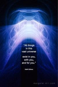 All things Kahlil Gibran Quote Kahlil Gibran Quote Fractal Art Margaret Dill #spiritualquotes #wordsofwisdom #Fractalart #lovequote #Margaretdill
