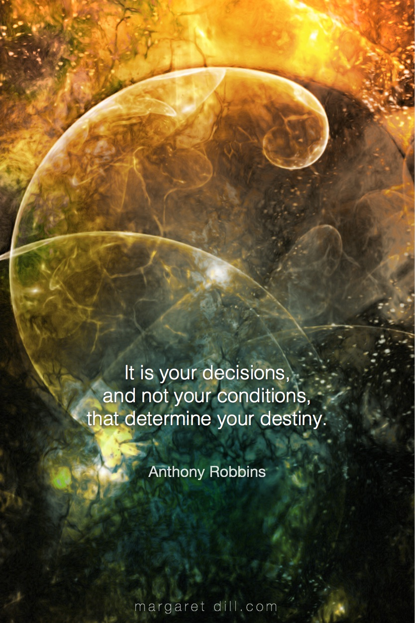 It is your decisions - Anthony Robbins #Wisdom  #MotivationalQuote  #Inspirational Quote  #TonyRobbin  #LifeQuotes  #LeadershipQuotes #PositiveQuotes  #SuccessQuotes