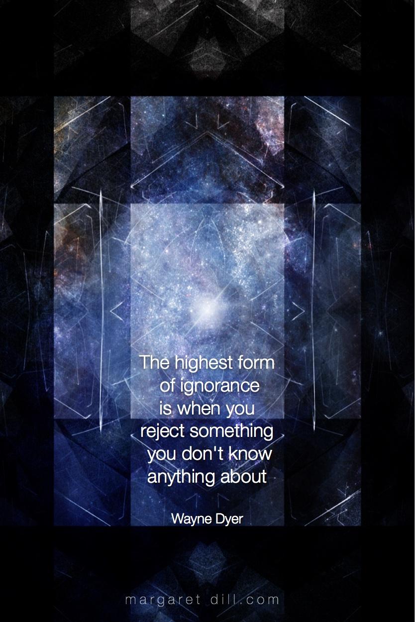 The highest form Wayne Dyer Quote #spiritualquotes #wordsofwisdom #Fractalart #AbstractArt #Margaretdill