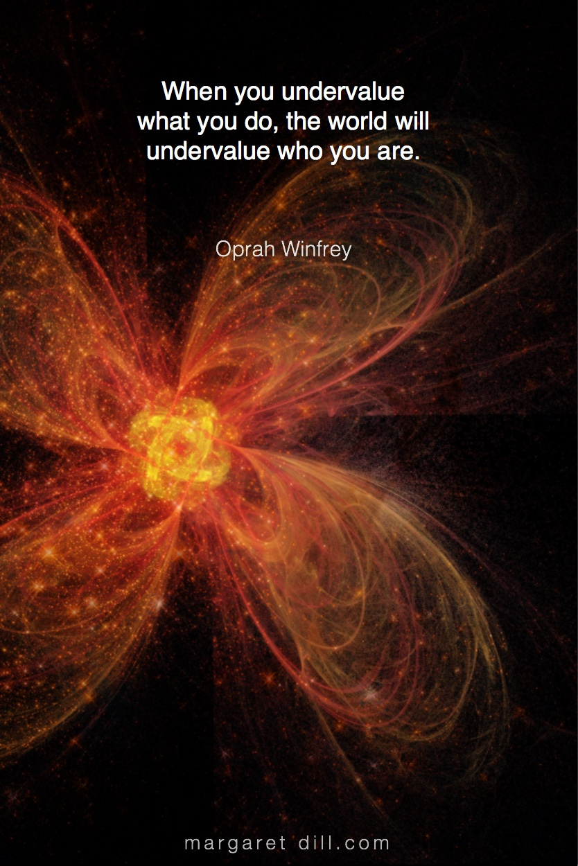 WHEN YOU - Oprah Winfrey #Wisdom #MotivationalQuote #Inspirational Quote #OprahWinfrey #LifeQuotes #LeadershipQuotes #PositiveQuotes #SuccessQuotes