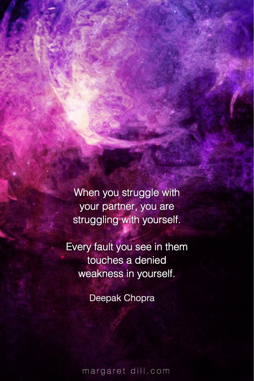 When you struggle - Deepak Chopra #Deepak Chopra #Wisdom  #MotivationalQuote  #Inspirational Quote   #LifeQuotes  #LeadershipQuotes #PositiveQuotes  #SuccessQuotes
