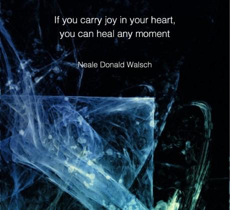 Carry joy - Neale Donald Walsch #NealeDonaldWalsch #Wisdom #MotivationalQuote #Inspirational Quote #LifeQuotes #LeadershipQuotes #PositiveQuotes #SuccessQuotes