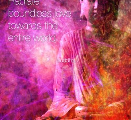 Boundless Love- Buddha