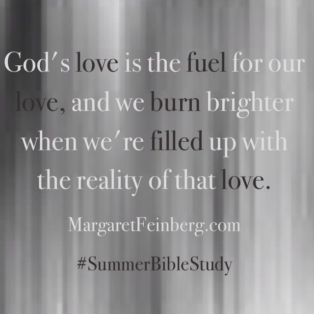 Sunday Still: God's Love is a Fuel