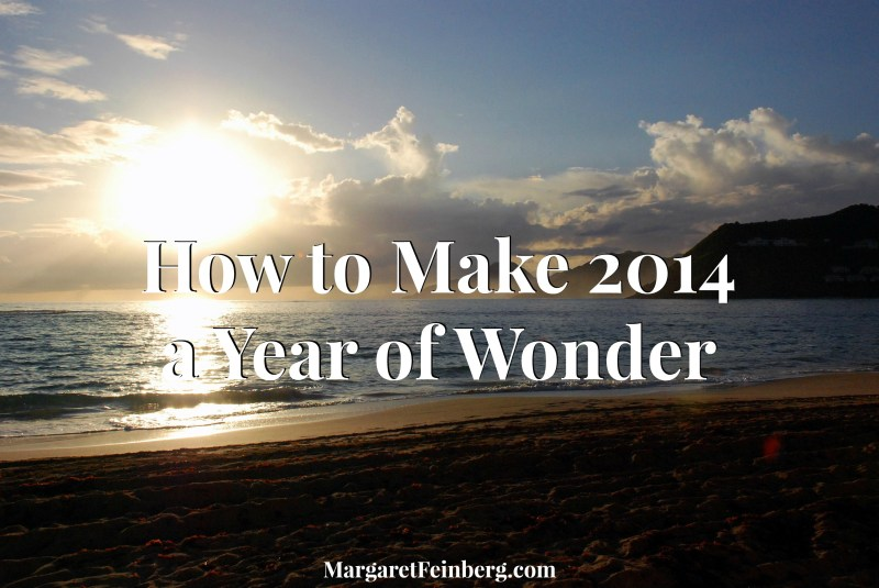 How to Make 2014 a Year of Wonder