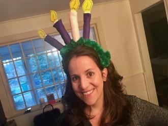 Advent Wreath headband