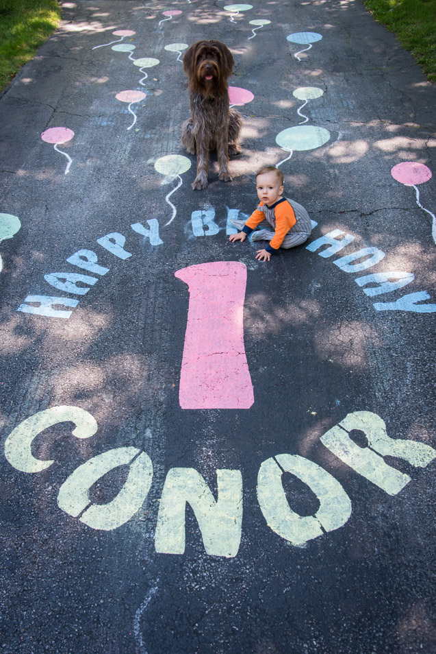 Conor's First Birthday