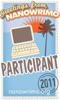NaNoWriMo 2011 Participant Badge