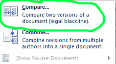 Compare Documents Step 2