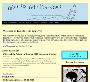 Tales to Tide You Over front page