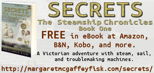 Secrets (The Steamship Chronicles, Book 1) Free in eBook at all stores