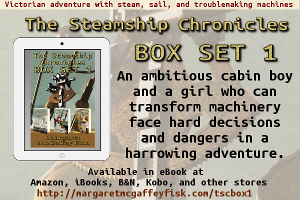 The Steamship Chronicles Sharable Box Set 1