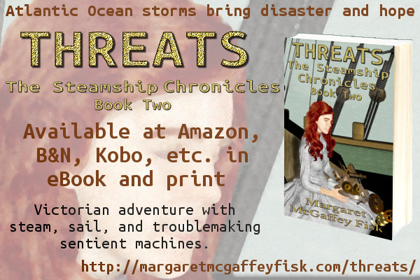 Threats (The Steamship Chronicles, Book 2)