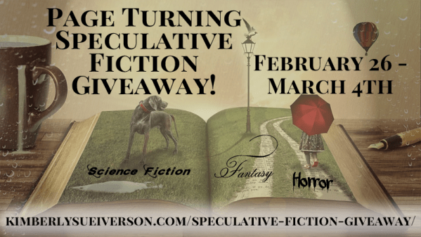 Kim Iverson's Page Turning Speculative Fiction Giveaway