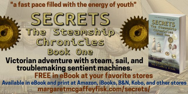 Secrets (The Steamship Chronicles, Book 1)