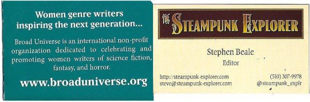 BroadUniverse and The Steampunk Explorer