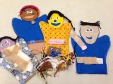 pre-sewn felt puppets