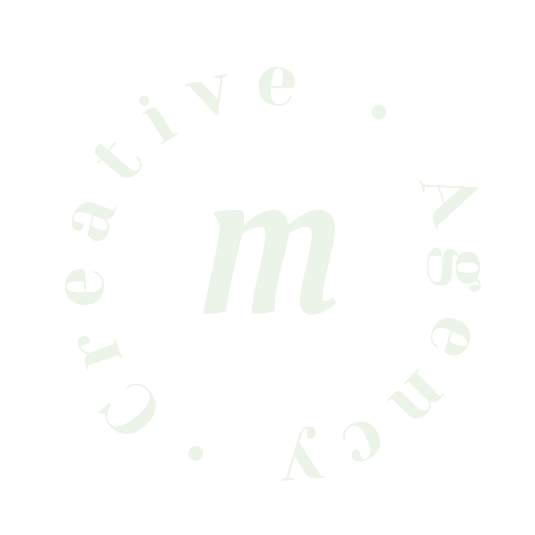 logo vert clair responsable Margaux Agency