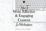 How To Write Effective and Engaging Copy For Websites