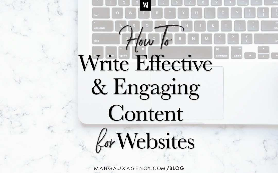How to Write Effective Engaging Web Content for Websites