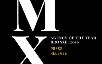 Press Release | Margaux Agency Awarded Bronze Agency of the Year 2019