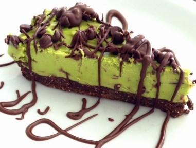 O'Wheatgrasshopper Cheesecake