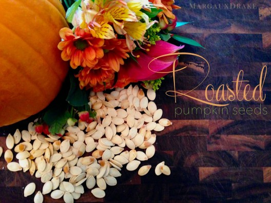 Roasted Pumpkin Seeds-Margaux Drake