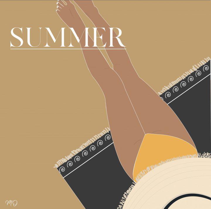 Summer   Illustration vectorielle