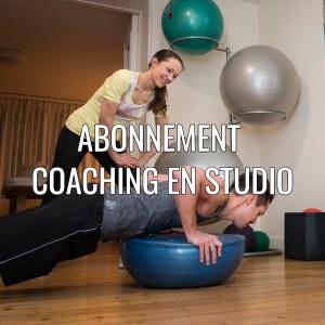 Coaching en studio - abonnement