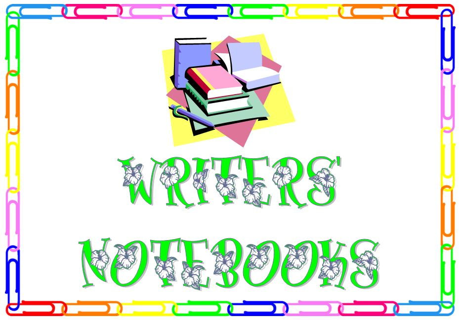 Writers' Notebooks - MargD Teaching Posters