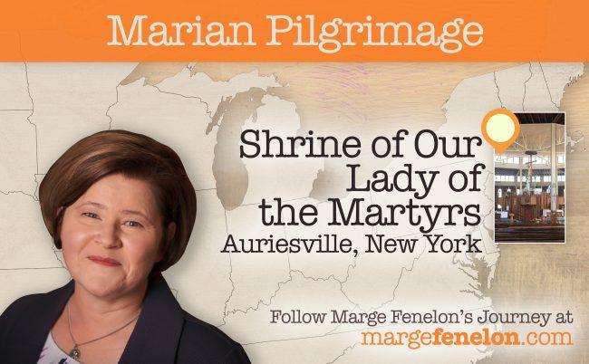 Marian Pilgrimage, Marge Fenelon, Blessed Virgin Mary