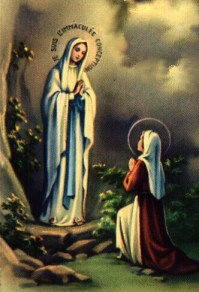 Our Lady of Lourdes, Lourdes, St. Bernadette, St. Bernadette Soubirous, Immaculate Conception