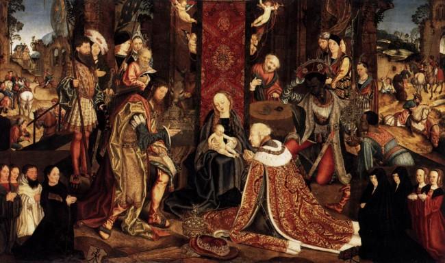 Epiphany, Master of the Aachen Altar, circa 1510, Wikimedia Commons, CC
