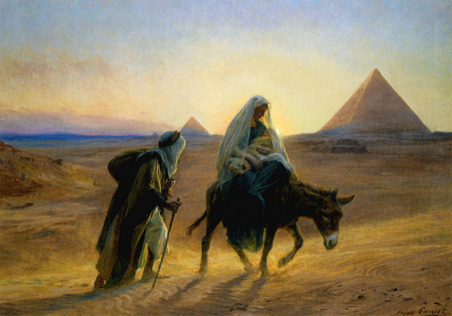 Flight to Egypt, Holy Family, Marge Fenelon