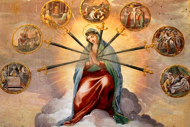 Blessed Virgin Mary, Catholic Church, Our Lady of Sorrows