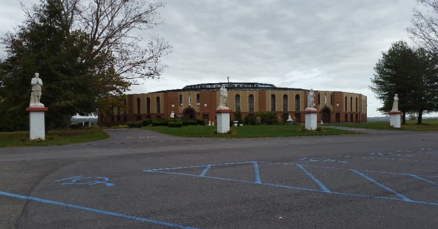 Marian Pilgrimage: Shrine of Our Lady of the Martyrs, Auriesville