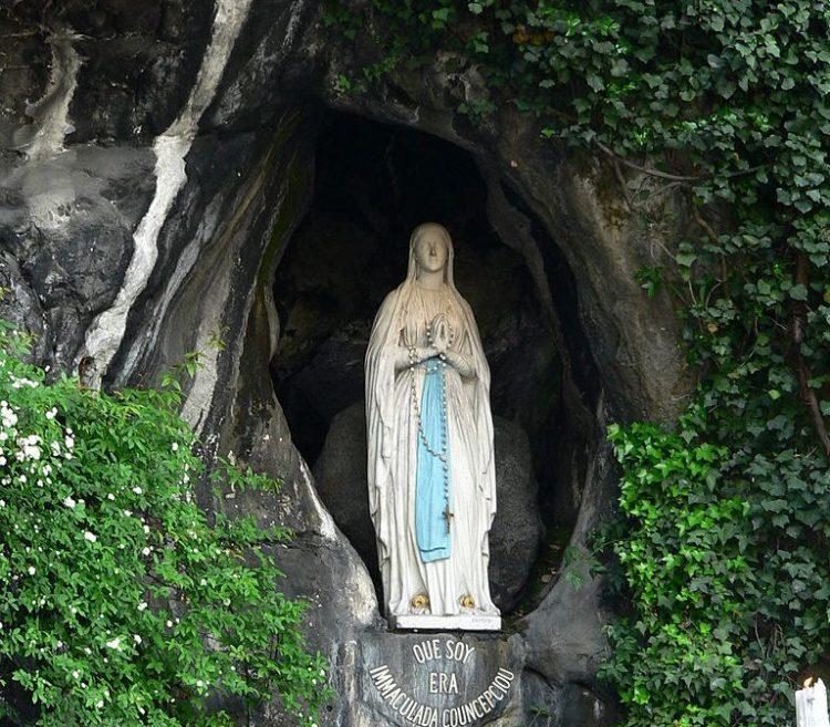 Our Lady of Lourdes, St. Bernadette, Marge Fenelon