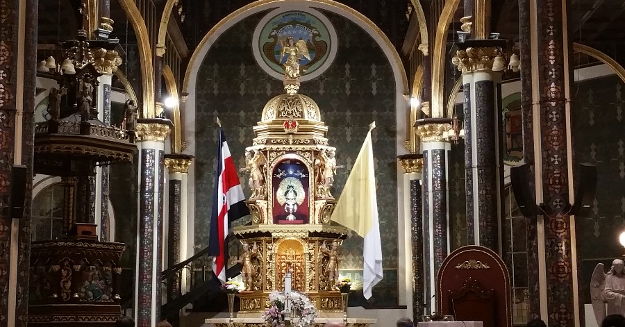 Mary's Ultimate Act of Humility: La Negrita in Cartago, Costa Rica