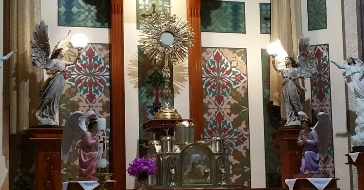 Our Lady of the Angels, Costa Rica, La Negrita, Blessed Virgin Mary, Eucharistic Adoration