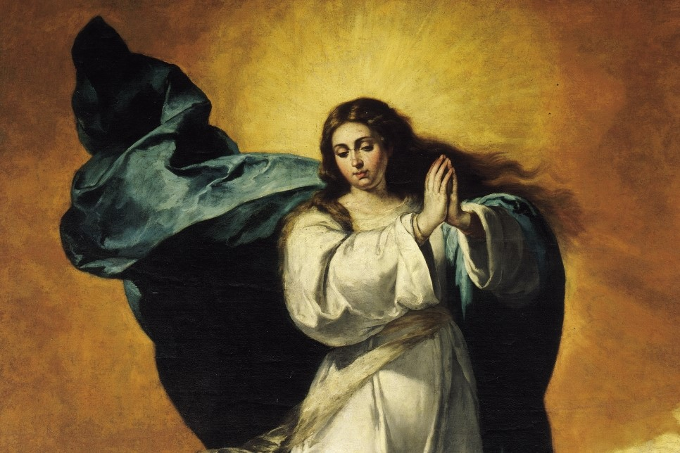 It's the Solemnity of Mary's Immaculate Conception! Go to her!
