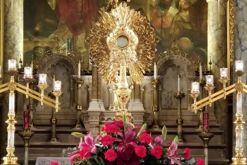Monstrance on the Altar
