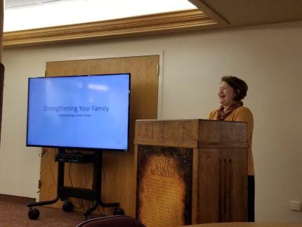 Marge Fenelon Speaking