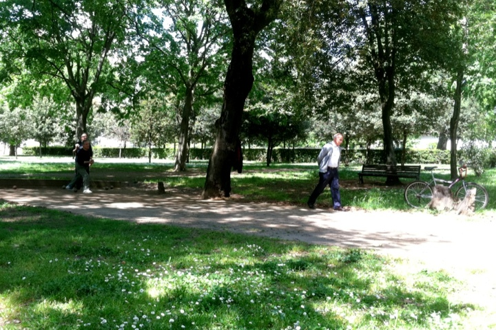 Borghese Park in Rome - Photo by Margie Miklas