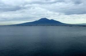 Margie in Italy View-of- Vesuvious Photo by Margie Miklas